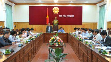 Photo of Đoàn công tác Ủy ban Thường vụ Quốc hội làm việc tại tỉnh Thừa Thiên Huế