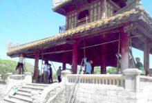 Photo of Vụ sập một góc di tích Phu Văn Lâu tại Huế: Chống đỡ để tăng khả năng chịu lực công trình