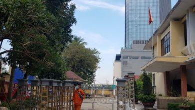 Photo of Trụ sở, nhà dân trên đường Hà Nội bàn giao mặt bằng mở rộng đường